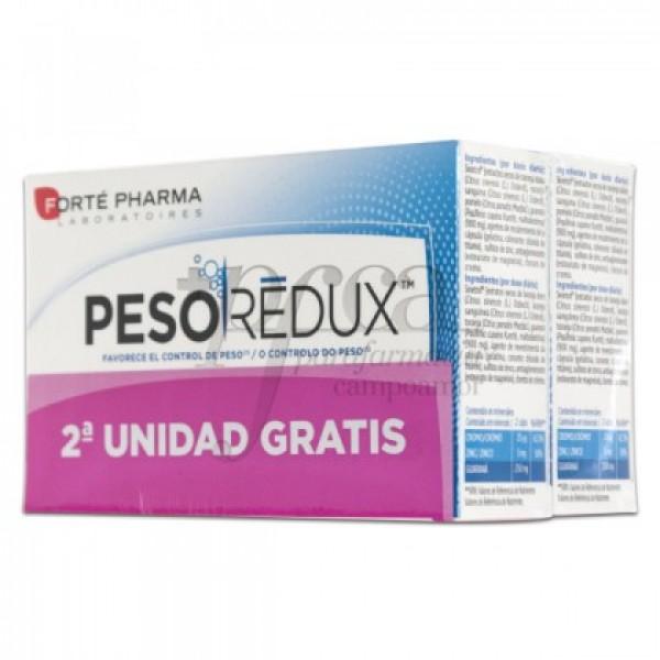 PESOREDUX CONTROL DE PESO 2X 56 CAPS PROMO