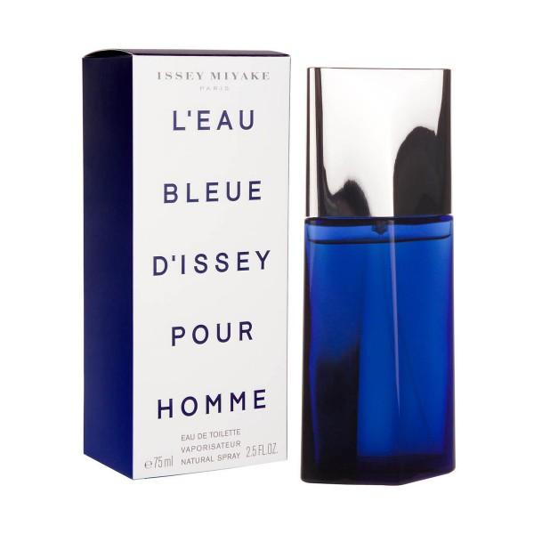 Issey miyake l'eau bleue d'issey eau de toilette pour homme 75ml vaporizador