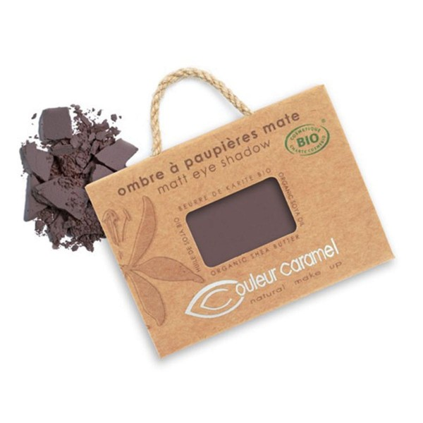 Couleur caramel ombre a paupieres mat nº81 brun intense
