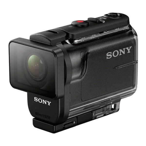 Sony action cam hdras50b negro cámara deportiva full hd sumergible 60 metros