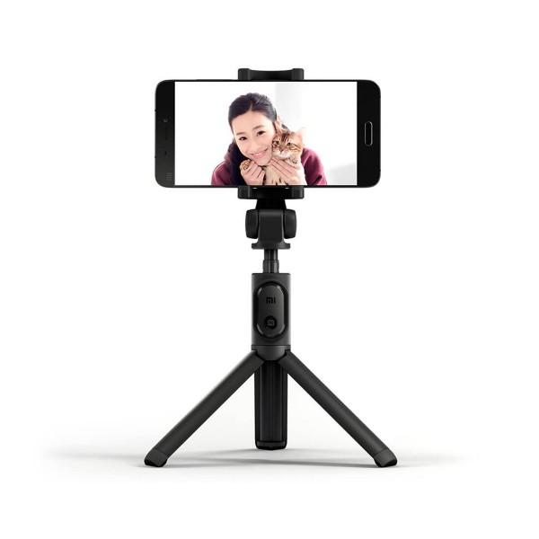 Xiaomi tripod selfie stick negro palo selfie + tripode con control remoto bluetooth