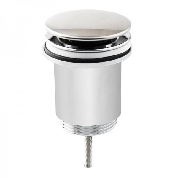 Valvula click-clack 1/4x63mm cromo abs