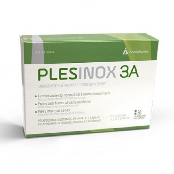 PLESINOX 3A 30 CAPS