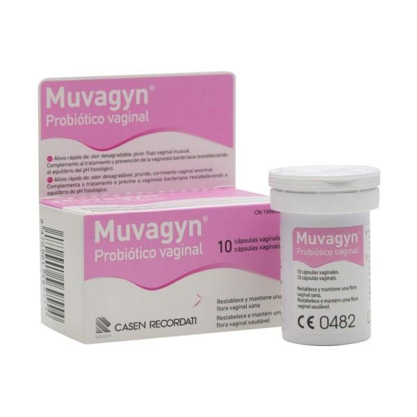 MUVAGYN PROBIOTICO VAGINAL 10 CAPS