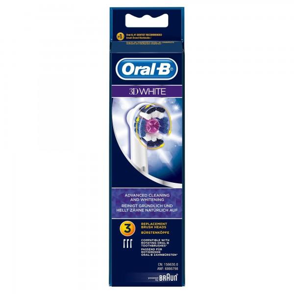 ORAL-B 3 RECAMBIOS PRORAL-BRIGHT